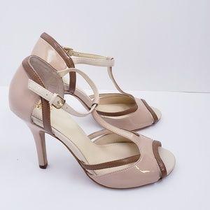Isola blush pump sandal